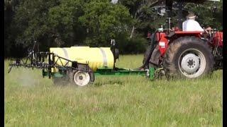 Herbicide Spraying Of Livestock Pastures For Wildlife