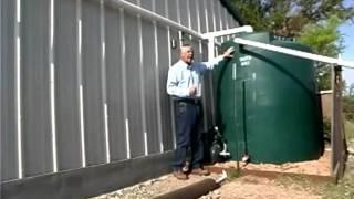Rainwater Harvesting At A Hunting Cabin