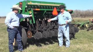 No-Till Seed Drill For Plot Preparation
