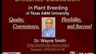 Distance Ed. Degrees In Plant Breeding Series 2