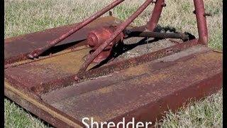 Shredder For Plot Preparation