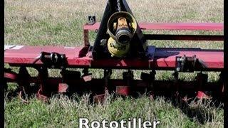 Rototiller For Plot Preparation