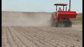 Preparing Land For Seeding Native Grasses And Plants